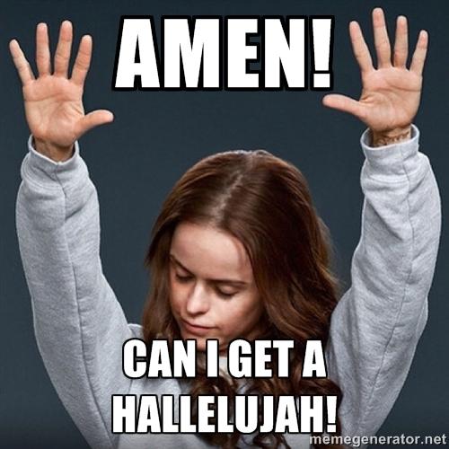 aleluia amen