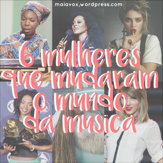 detaque 6 mulheres musica